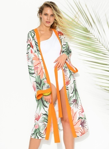 Morhipo Beach Kimono Renkli